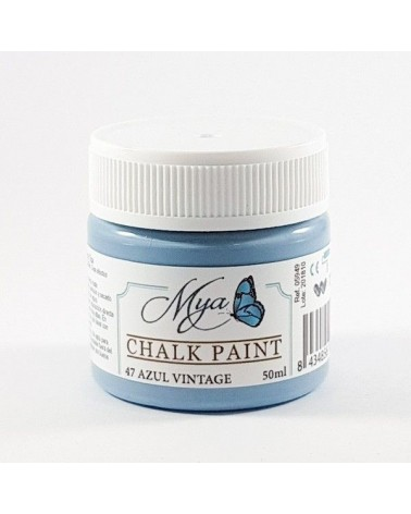 Chalk Paint MYA 47 100ml Azul Vintage