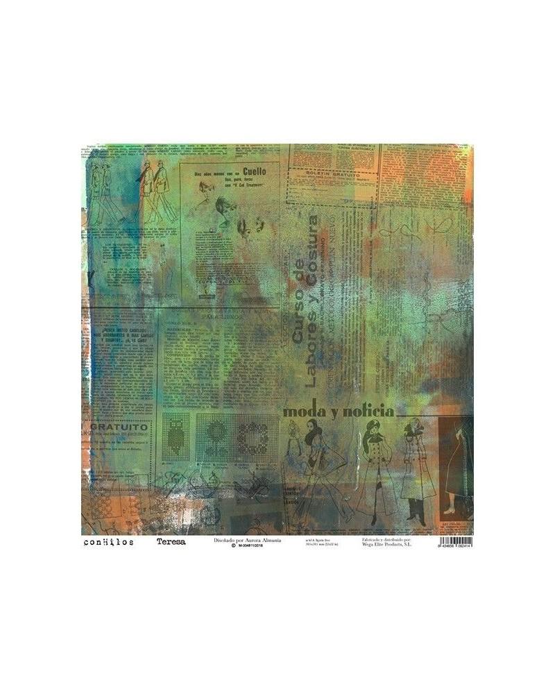 Papel Scrap MYA 0001 305x315 by Aurora