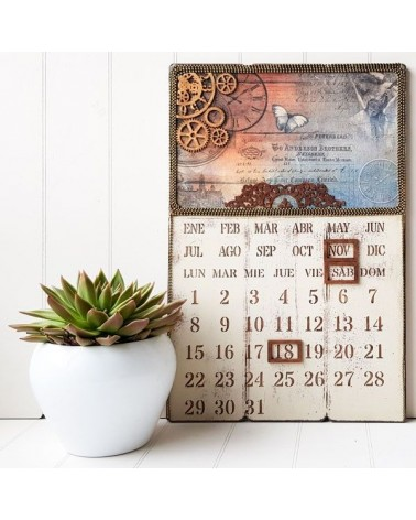 Kit DIY 001 Calendario Perpetuo 1