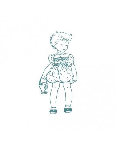 Sello Caucho Aurora Almunia 001 Bebé