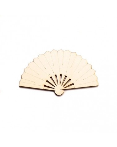 Wood Silhouette Figure 210 Fan