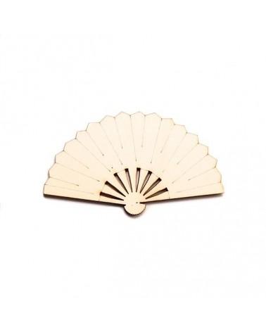 Wood Silhouette Figure 210 Fan
