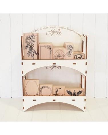 3d Wood 029 Stackable Display