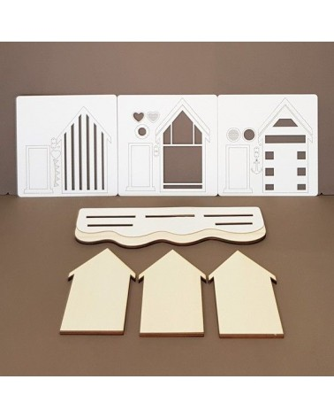 Kit DIY 006 Casas de playa