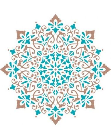 Home Decor Stencil Rosette 015 Mandala