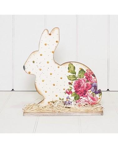Wood Board 089 Easter Bunny