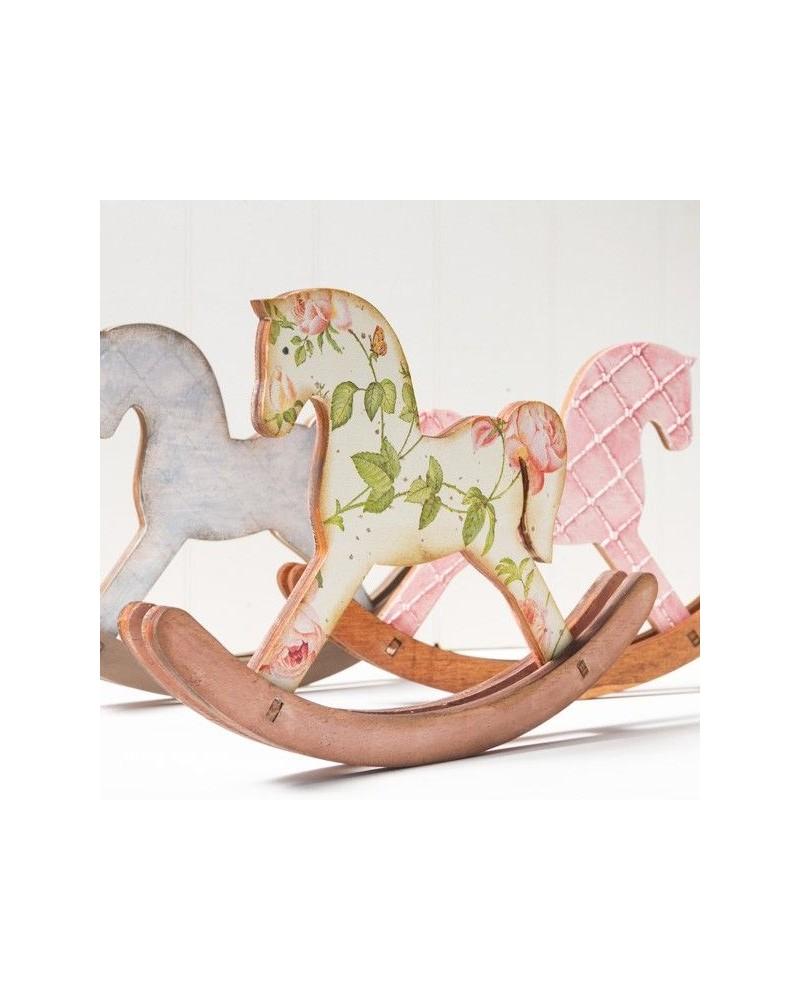 Wood Board 088 Horse Swing