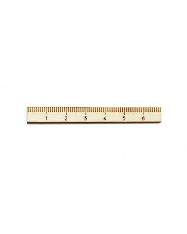 Wood Silhouette Figure 203 Ruler