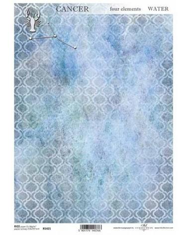 Papel de Arroz Decoupage R1421 A4