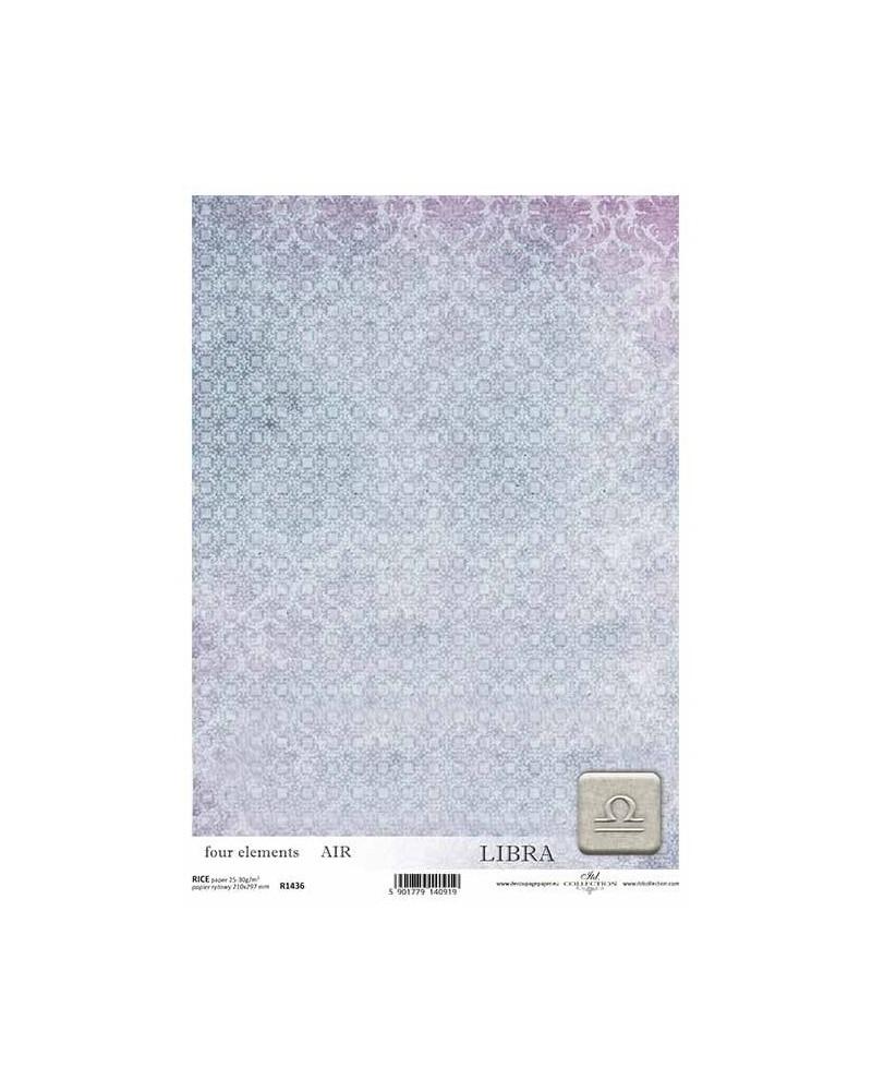 Papel de Arroz Decoupage R1436 A4