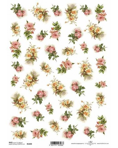 Papel de Arroz Decoupage R1444 A4