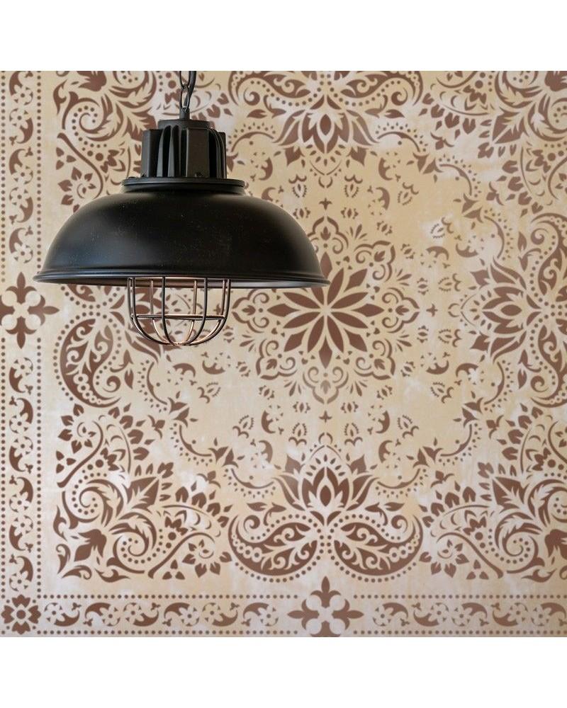 Stencil Home Decor Adamascado 026 - 1