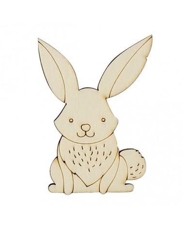 Silueta Figura 214 Conejo