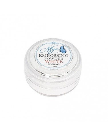 Embossing Powder MYA 06 Opaque White 15ml