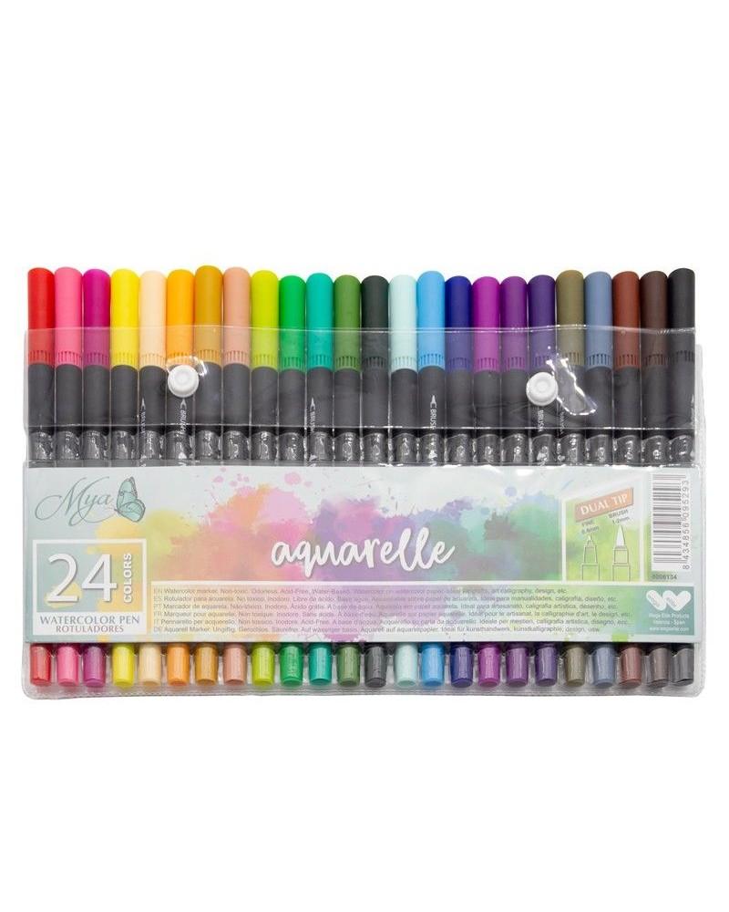 MYA Aquarelle Markers Set 24u