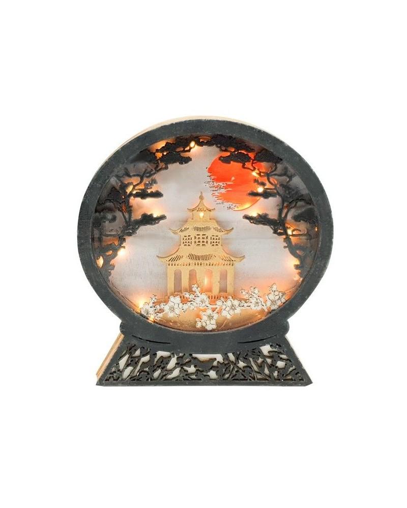 Kit DIY 015 Lámpara Templo Japones