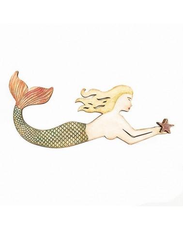 Kit DIY 018 Sirena + stencil