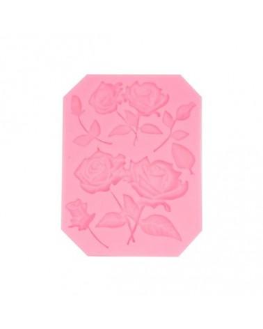 Molde de Silicona 067 Rosas