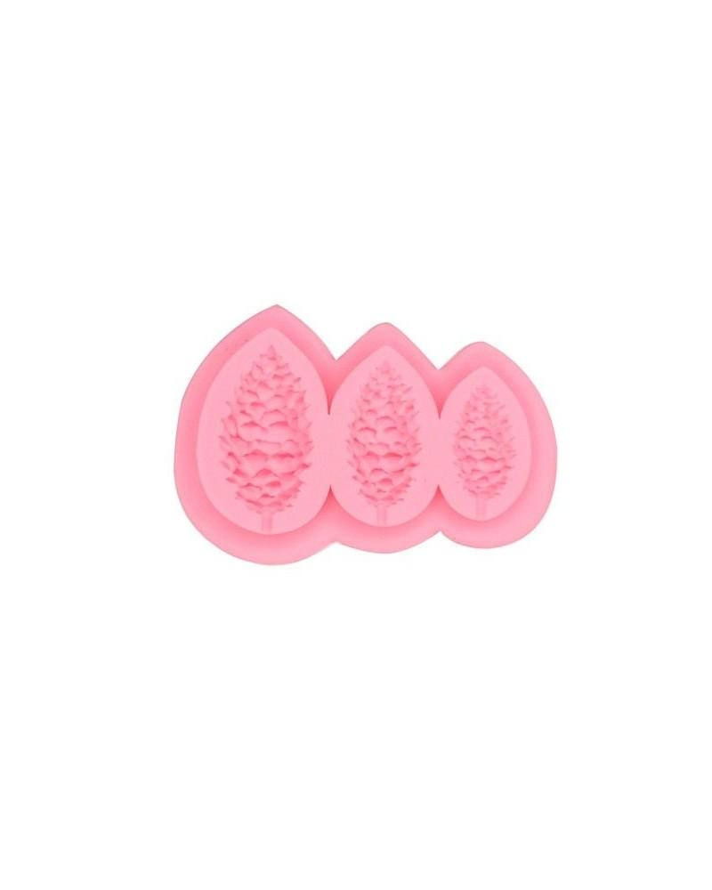 Silicone Mold 069 Pinecones