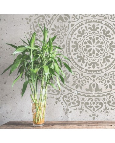 Stencil Home Decor Rosetón 017 Mandala