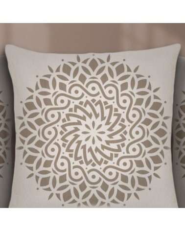 Stencil Home Decor Mandala 019