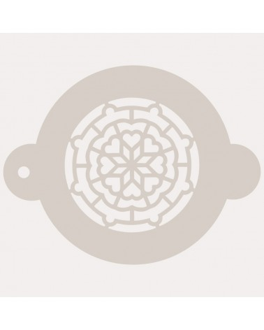 Stencil Reposteria Arabesco 002