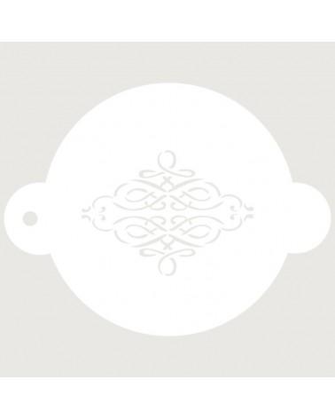 Stencil Reposteria Arabesco 007