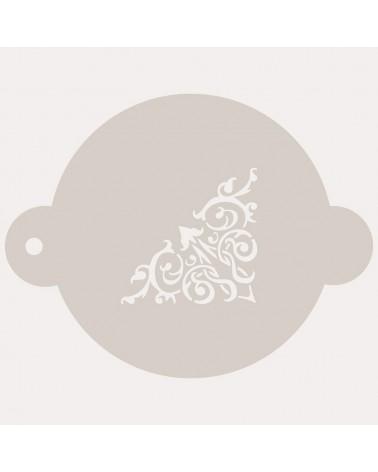 Stencil Reposteria Arabesco 008