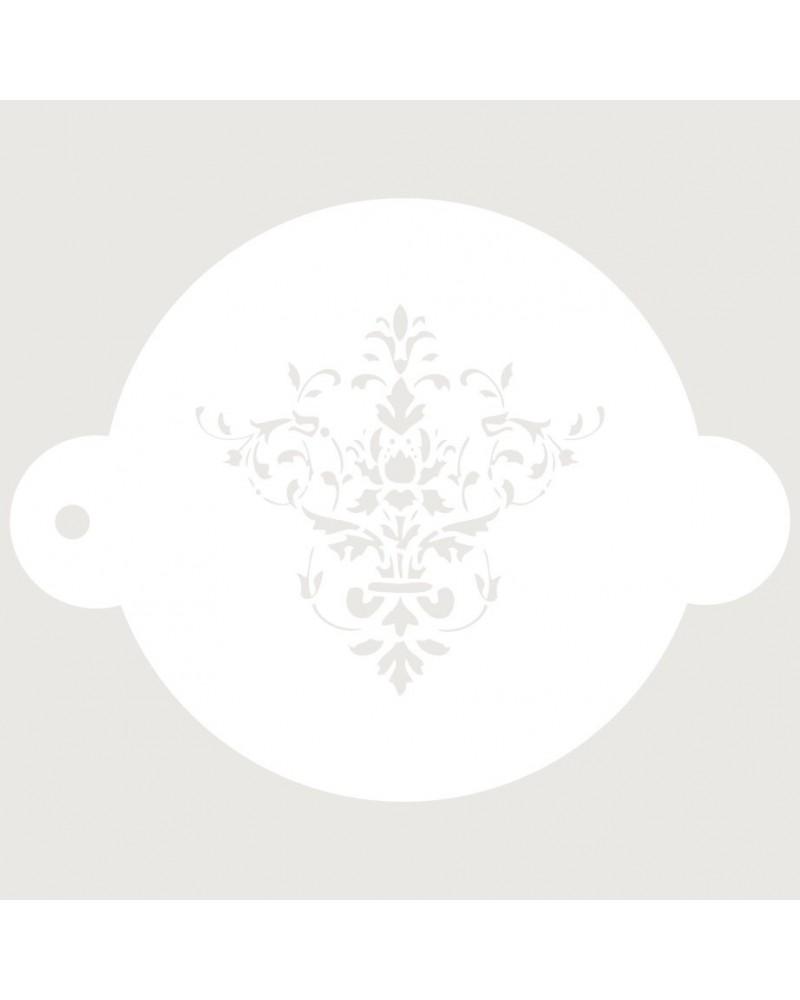 Stencil Reposteria Arabesco 015