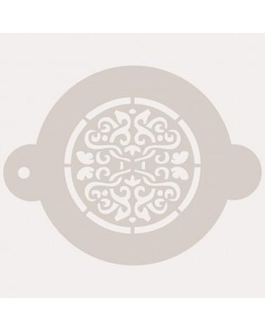 Stencil Reposteria Arabesco 025