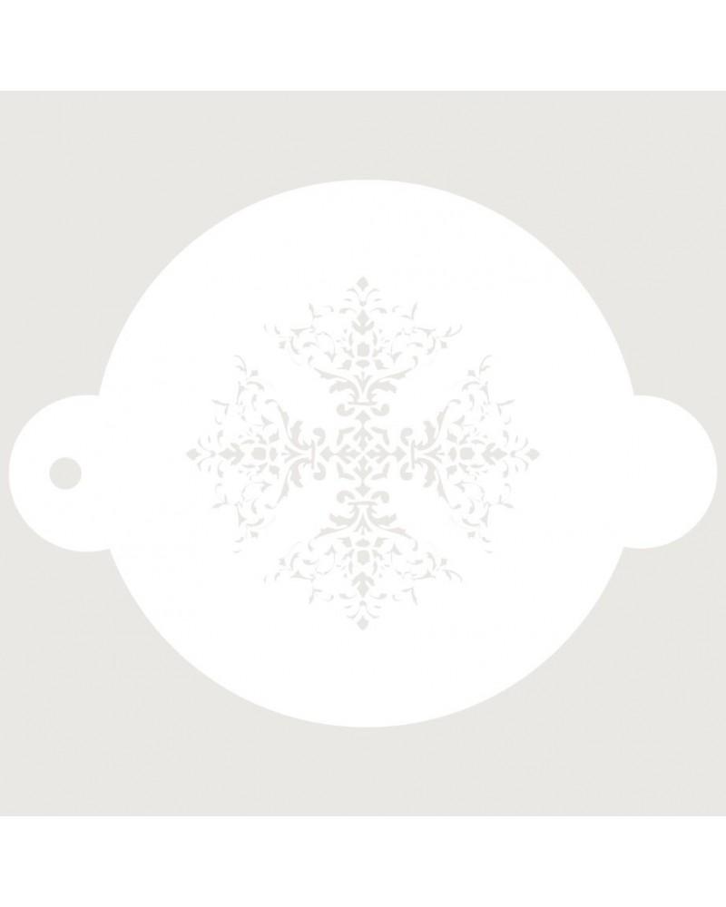 Stencil Reposteria Arabesco 026