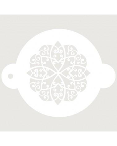Stencil Reposteria Arabesco 029