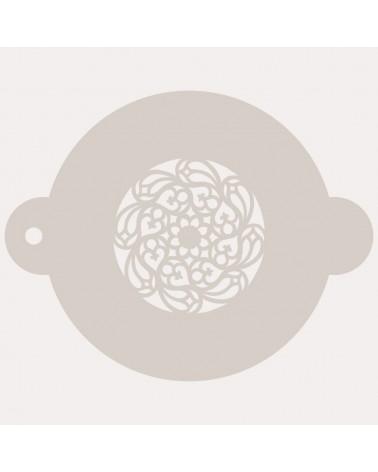 Stencil Reposteria Arabesco 036