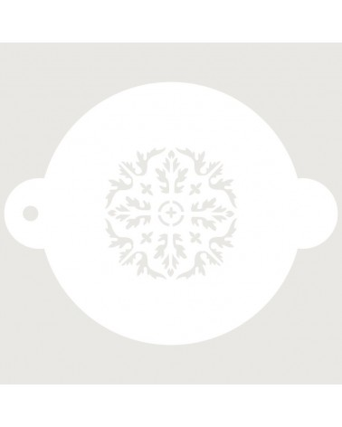 Stencil Reposteria Arabesco 037