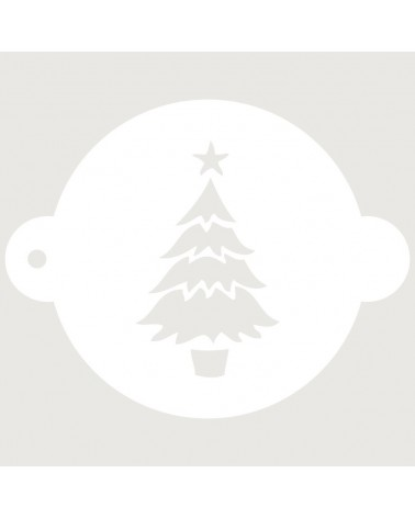 Stencil Reposteria Fiesta Navidad 001