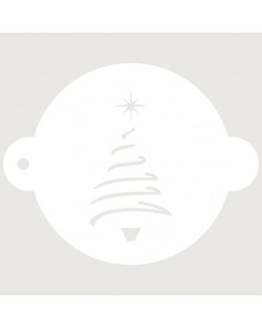 Stencil Reposteria Fiesta Navidad 002