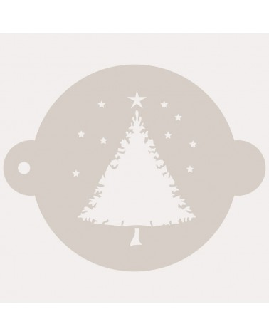 Stencil Reposteria Fiesta Navidad 003