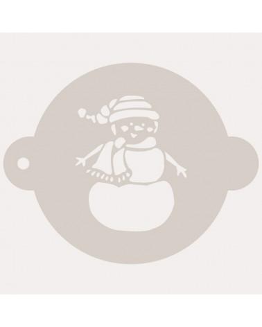 Stencil Reposteria Fiesta Navidad 008