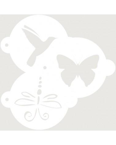 Stencil Reposteria Kit Animales 002