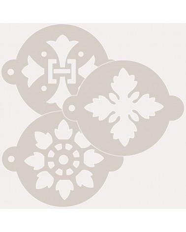 Stencil Reposteria Kit Arabescos 001