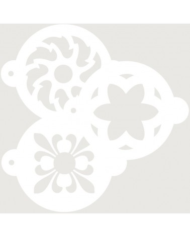 Stencil Reposteria Kit Arabescos 002