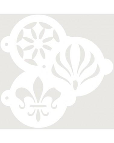 Stencil Reposteria Kit Arabescos 003