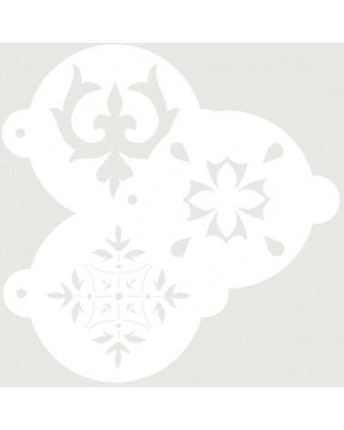 Stencil Reposteria Kit Arabescos 004