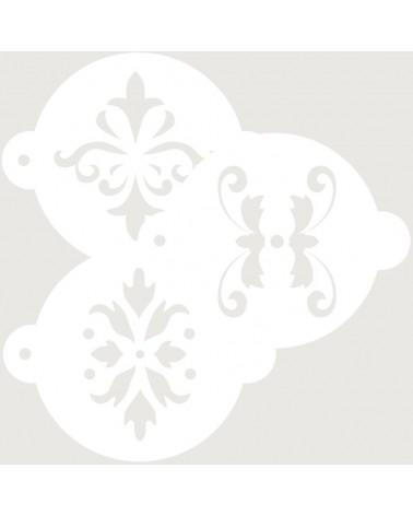 Stencil Reposteria Kit Arabescos 005