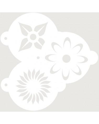 Stencil Reposteria Kit Floral 002