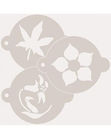 Stencil Reposteria Kit Floral 003
