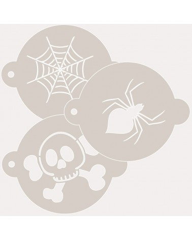 Stencil Reposteria Kit Halloween 002