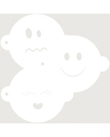 Stencil Reposteria Kit Infantil 002