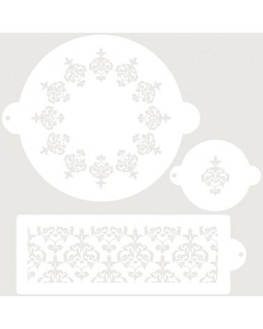 stencil reposteria set nupcial 5